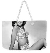 Barbara Stanwyck Weekender Tote Bag