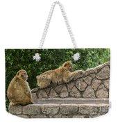 Barbary Macaques Weekender Tote Bag