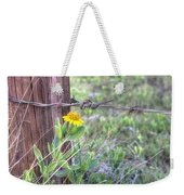 Barbed Beauty Weekender Tote Bag