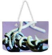 Barbed Violet Weekender Tote Bag