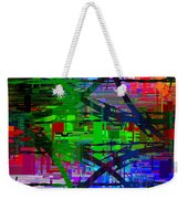 Barbed Wire Cubed 1 Weekender Tote Bag