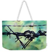 Barbed Wire Love-jealousy 2 Weekender Tote Bag