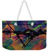 Barbed Wire Love-punch Drunk Weekender Tote Bag