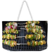 Barbeque Kabobs On Grill Weekender Tote Bag