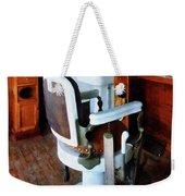 Barber - Barber Chair And Cash Register Weekender Tote Bag