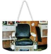Barber - Barber Chair Front View Weekender Tote Bag