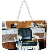 Barber - Barber Shop One Chair Weekender Tote Bag