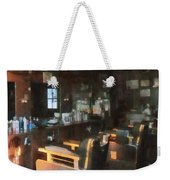 Barber - Barber Shop With Sun Streaming Through Window Weekender Tote Bag