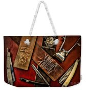 Barber - Barber Tools Of The Trade Weekender Tote Bag