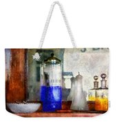 Barber - Blueberry Flavored Thanks For Asking Weekender Tote Bag