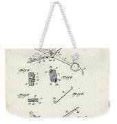 Barber Shears Patent 1927 Weekender Tote Bag