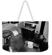 Barber Shop Weekender Tote Bag