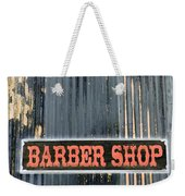 Barber Shop - Photopower Weekender Tote Bag