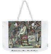 Barber-surgeon, 1568 Weekender Tote Bag