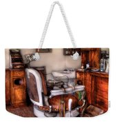 Barber - The Barber Chair Weekender Tote Bag
