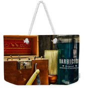 Barber - Vintage Barber Tools  Weekender Tote Bag