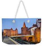 Barbican In The Old Town Of Warsaw Weekender Tote Bag