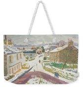Barbon In The Snow Weekender Tote Bag