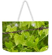 Barbwire And Vine Weekender Tote Bag
