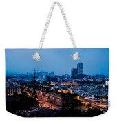 Barcelona At Night  Weekender Tote Bag