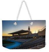 Barcelona Olympic Stadium Weekender Tote Bag
