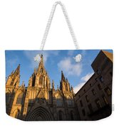 Barcelona's Marvelous Architecture - Cathedral Of The Holy Cross And Saint Eulalia Weekender Tote Bag