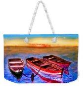 Barche Weekender Tote Bag
