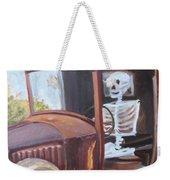 Bare Bones Weekender Tote Bag