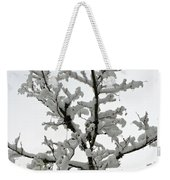 Bare Branches With Snow Weekender Tote Bag