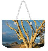 Bare Tree On The Spit Weekender Tote Bag