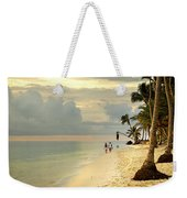 Barefoot On The Beach Weekender Tote Bag