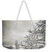 Barely Frozen Weekender Tote Bag