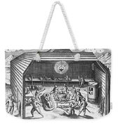 Barents Expedition Wintering In Arctic Weekender Tote Bag