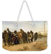 Barge Haulers On The Volga Weekender Tote Bag