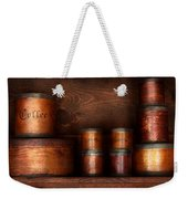 Barista - Coffee - Coffee And Spice Weekender Tote Bag by Mike Savad