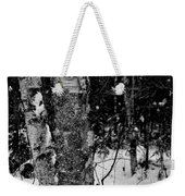 Bark And Trees In Winter Weekender Tote Bag