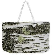 Bark Of Paper Birch Weekender Tote Bag