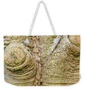 Bark Of Silk Floss Tree Background Texture Pattern Weekender Tote Bag