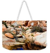 Barker Dam Big Horn Dam By Diana Sainz Weekender Tote Bag