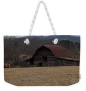 Barn Across The Field Weekender Tote Bag
