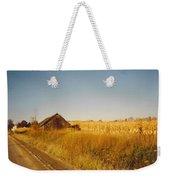 Barn And Corn Field Weekender Tote Bag