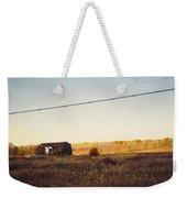 Barn And Landscape Weekender Tote Bag