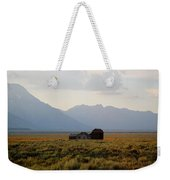 Barn And Mountains Weekender Tote Bag