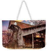 Barn At Sunset Weekender Tote Bag
