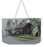 Old Barn At Wason Pond Weekender Tote Bag