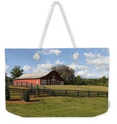 Barn At Yonah Mountain Winery 001 Weekender Tote Bag