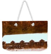 Barn Built By The Ccc At The Tieton Work Center Weekender Tote Bag