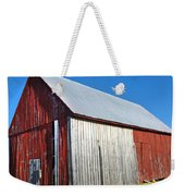 Barn By Side Of Road Weekender Tote Bag