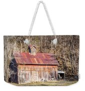 Barn By The Bluffs Weekender Tote Bag