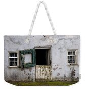 Barn Door In Need Of Repair Weekender Tote Bag